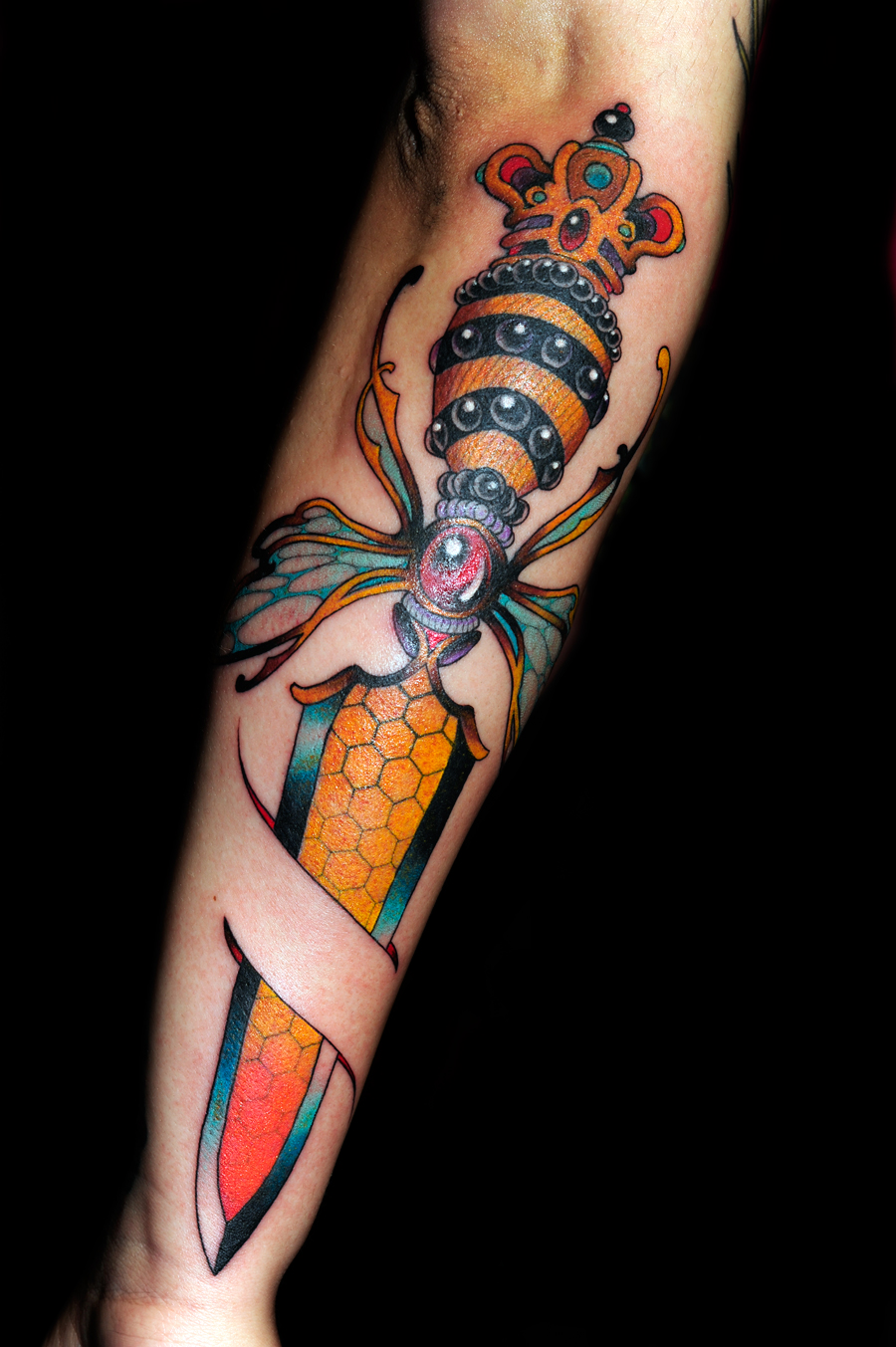 Jessica swaffer the old ten in one for Henry lewis tattoo